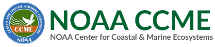 NOAA Center for Coastal & Marine Ecosystems (CCME) logo